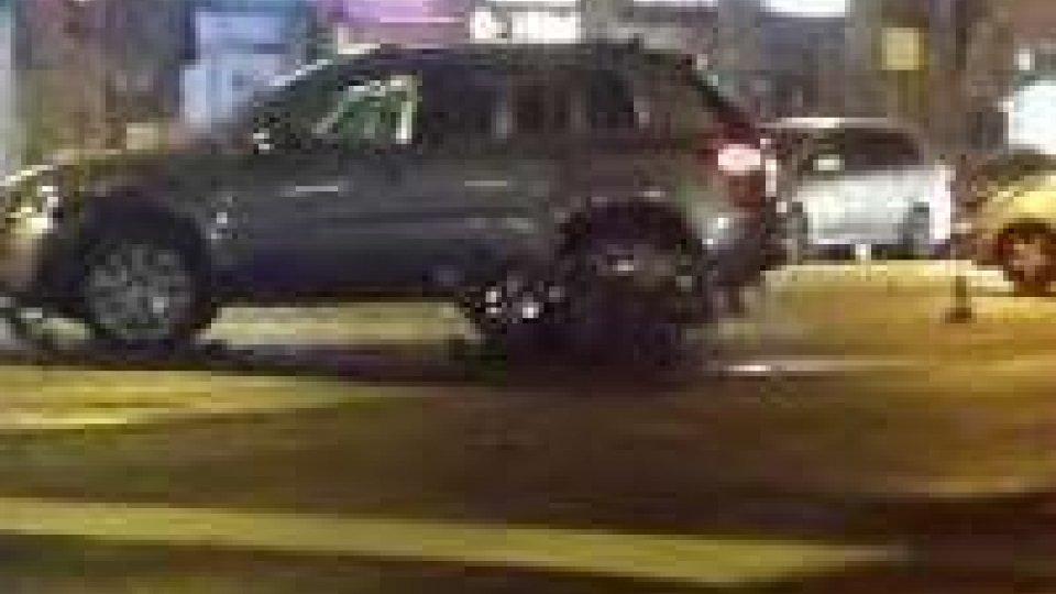 Scontro tra auto e moto, grave incidente a Santa Cristina