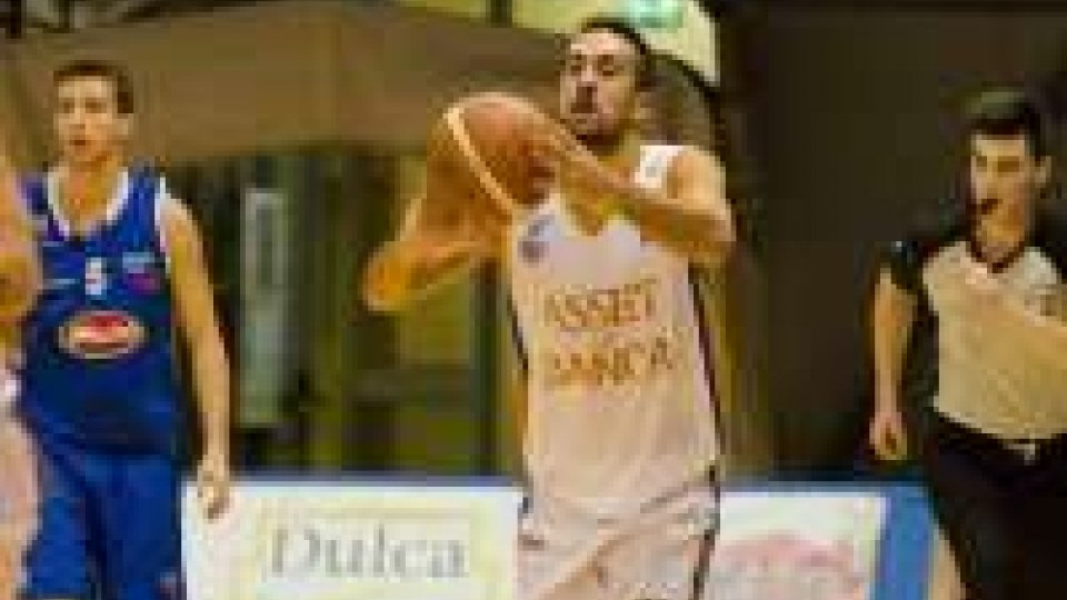 Basket: Serie C, Asset Banca RSM–Faenza 56-81Basket: Serie C, Asset Banca RSM–Faenza 56-81