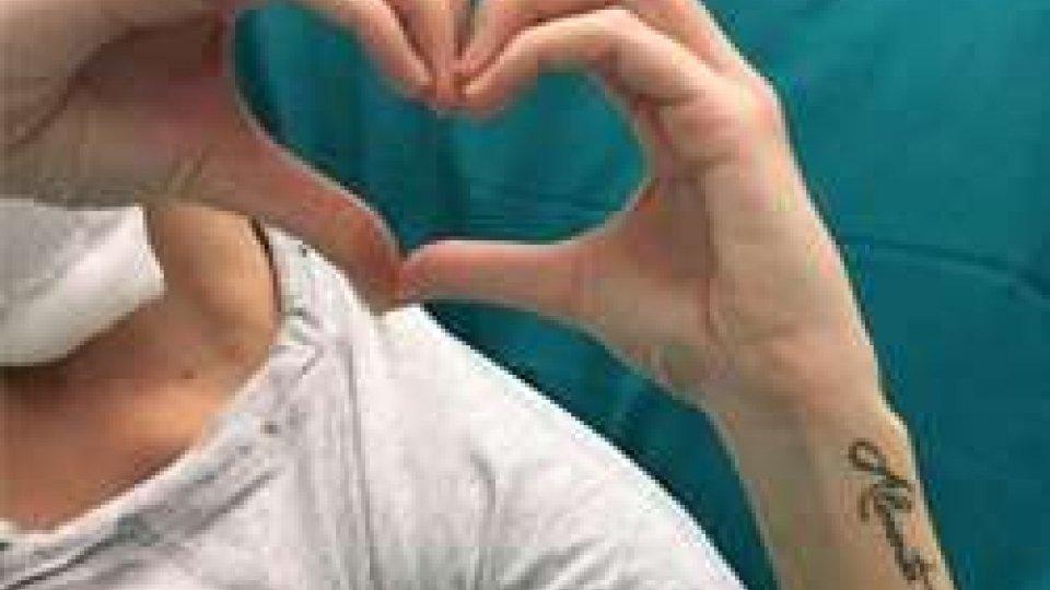 Sfregiata con l'acido: Gessica manda una foto dall'ospedale