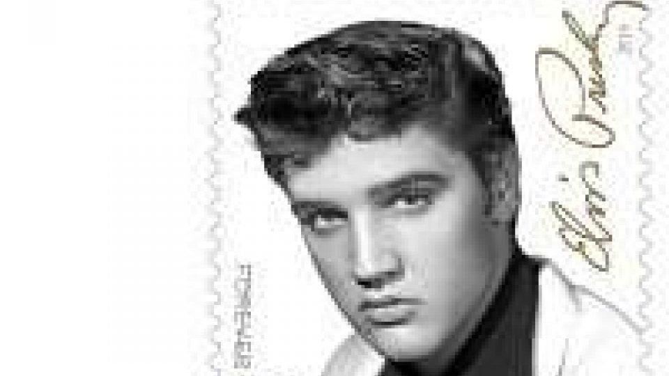 """Il francobollo """"Forever"""" dedicato a Elvis"""