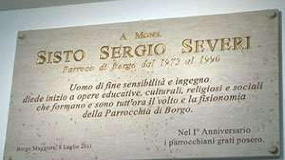 Il ricordo di monsignor Sisto Sergio Severi