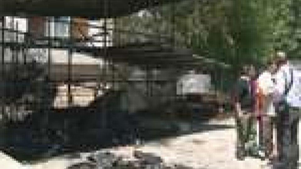 Incendio al capanno scout: 25mila euro di danni