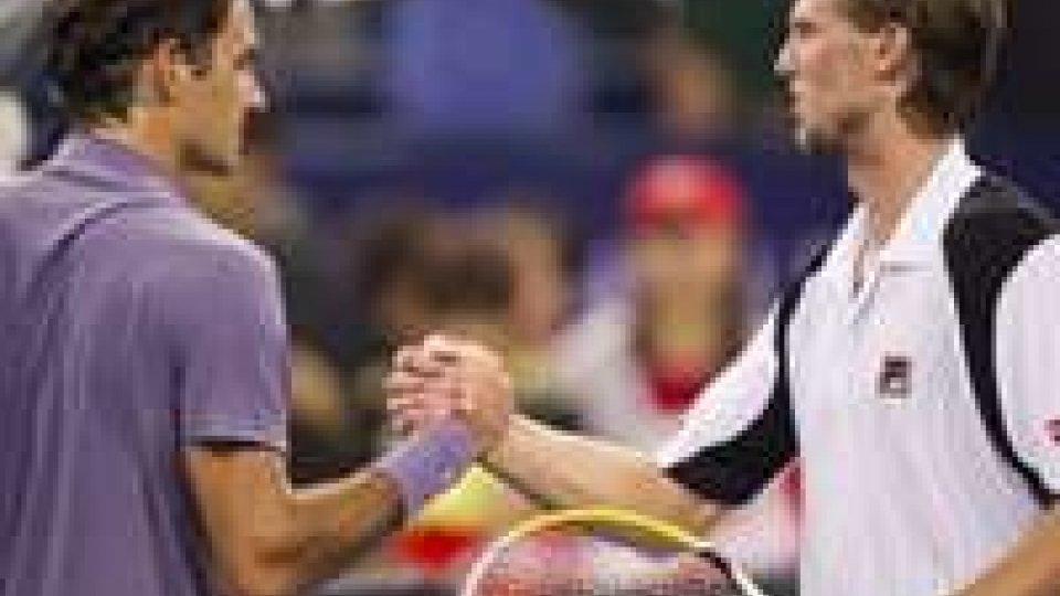 ATP Shanghai: Federer batte Seppi.