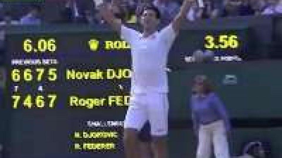 Wimbledon: trionfa Djokovic, Federer ko