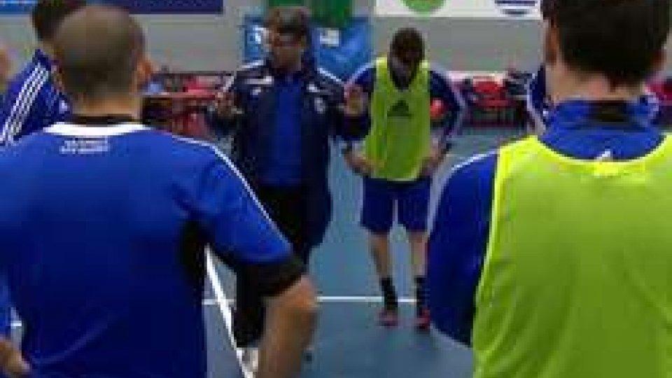 Nazionale di FutsalEuro Futsal: oggi il debutto contro la Grecia