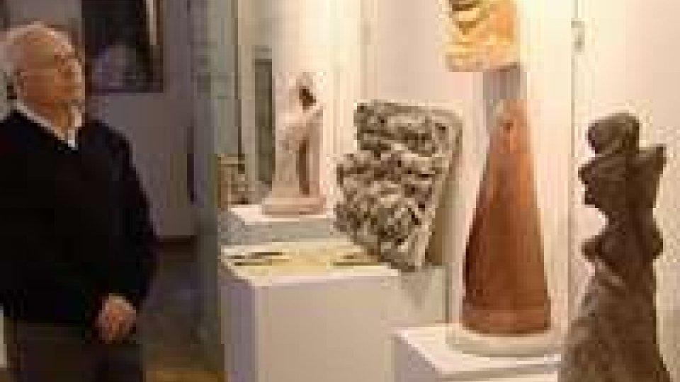 San Marino - Le sculture di Luigi Forcellini esposte a Borgo Maggiore