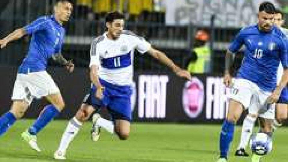 Troppa Italia per San Marino, a Empoli è 8-0