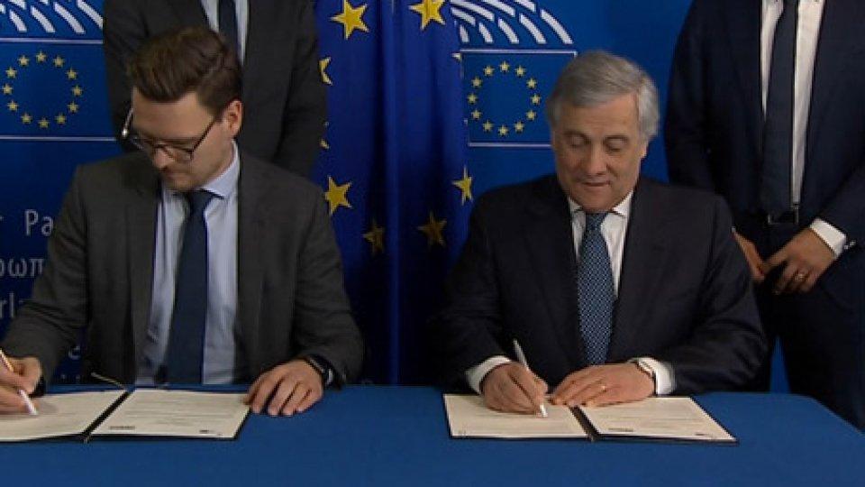 memorandum d'intesaTommasi e Simic da Tajani per memorandum d'intesa