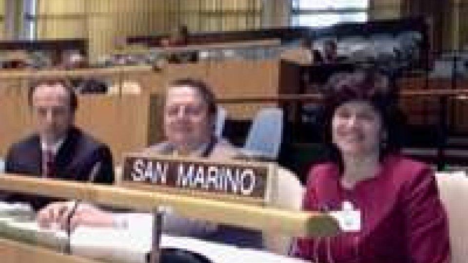 Il Segretario Mularoni a New York