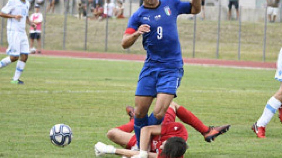 @FSGCDue reti per tempo, l'Italia U20 supera San Marino
