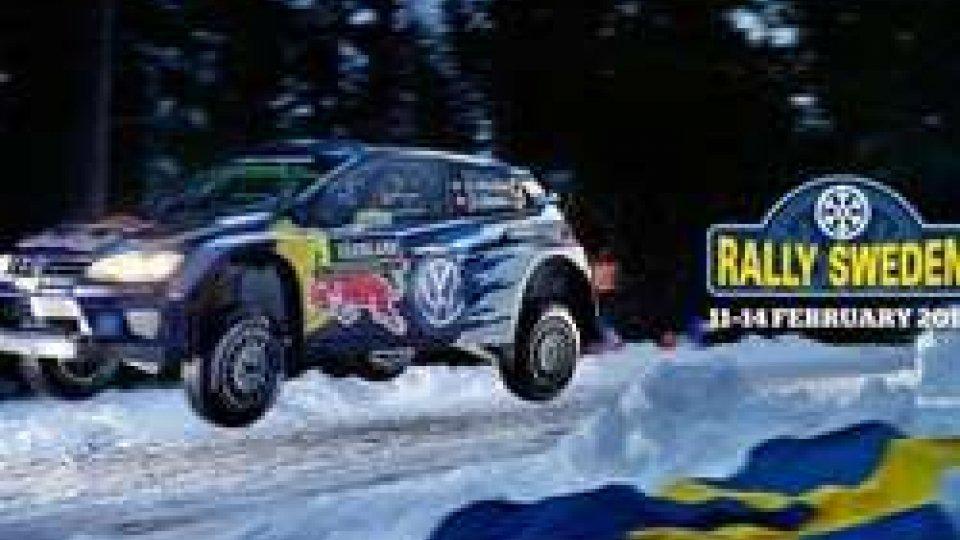Al via il rally di Svezia. In mattinata lo shakedown