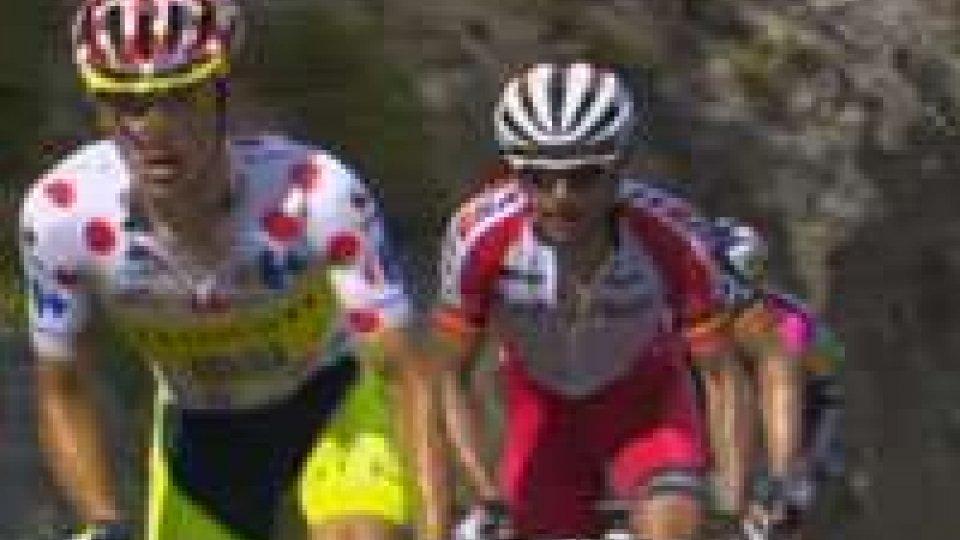 Tour: tris Tinkoff-Saxo con Majka, Nibali incrementa in gialloTour: tris Tinkoff-Saxo con Majka, Nibali incrementa in giallo