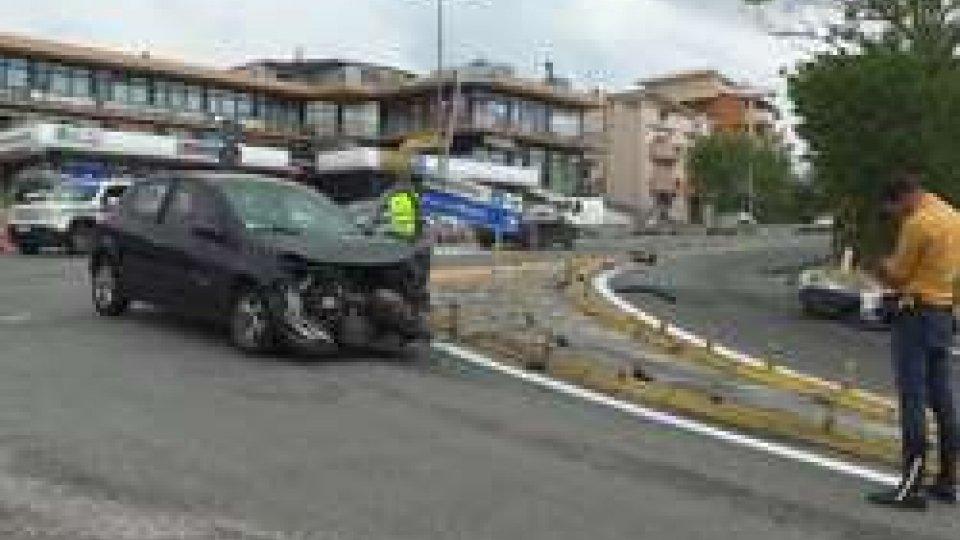 scontro a BorgoIncidenti: brutta giornata sulle strade di San Marino