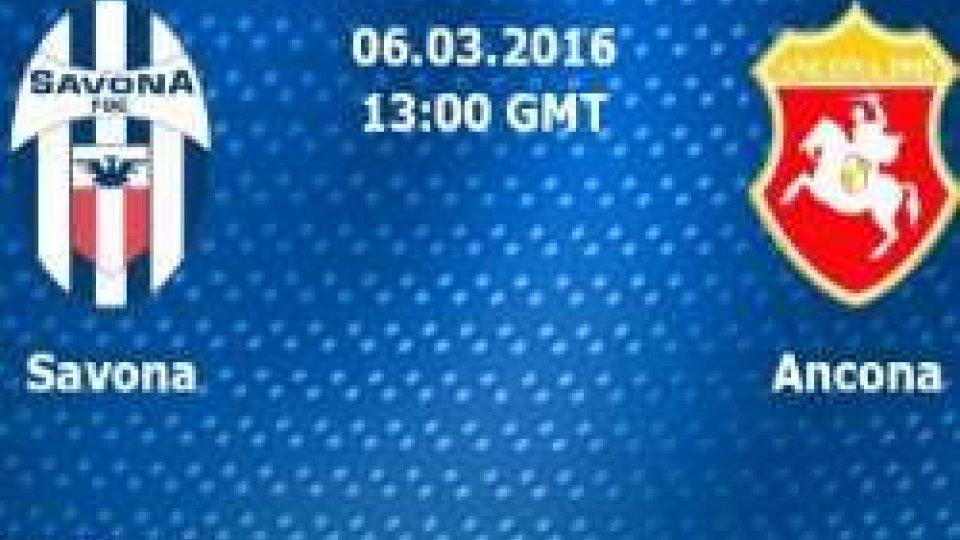 Savona-Ancona rinviata a domani per il maltempo