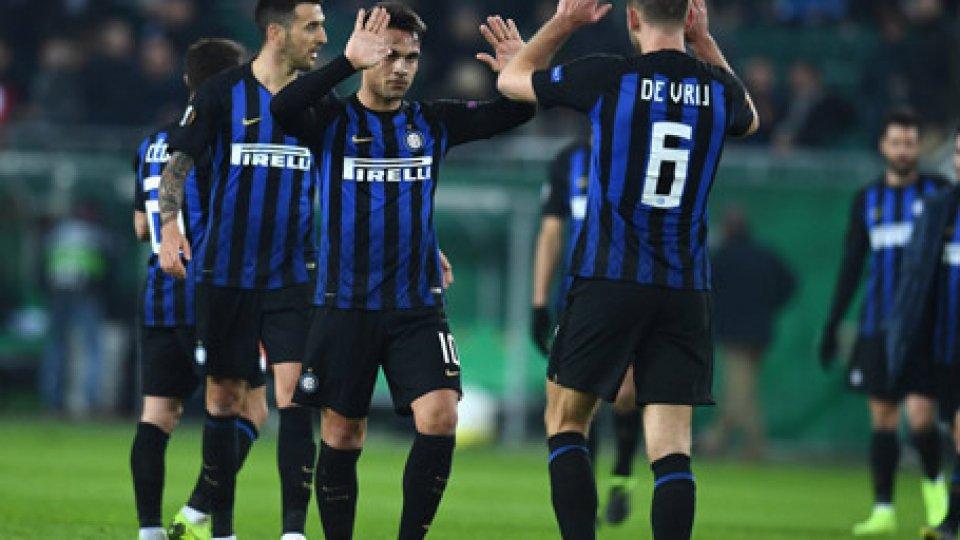 Europa League: volano Inter e Napoli, stop della Lazio