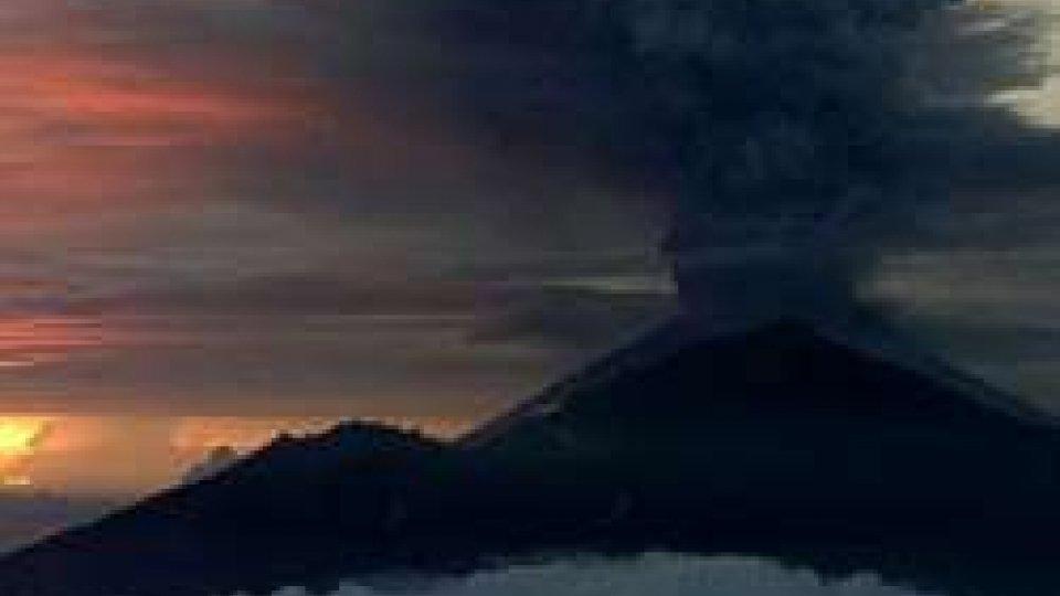 Eruzione vulcano Agung