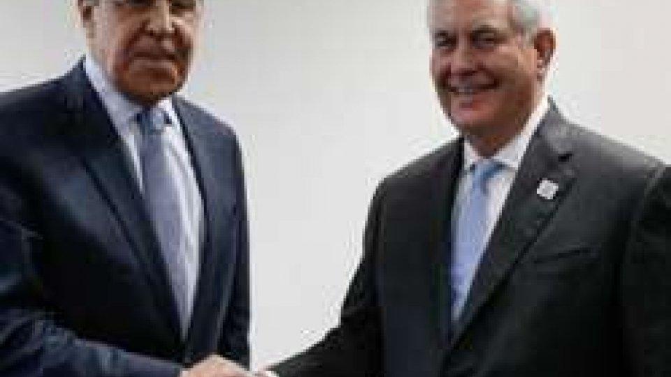 "Siria: Tillerson incontra Lavrov a Mosca. Trump: ""Putin sostiene diavolo"""