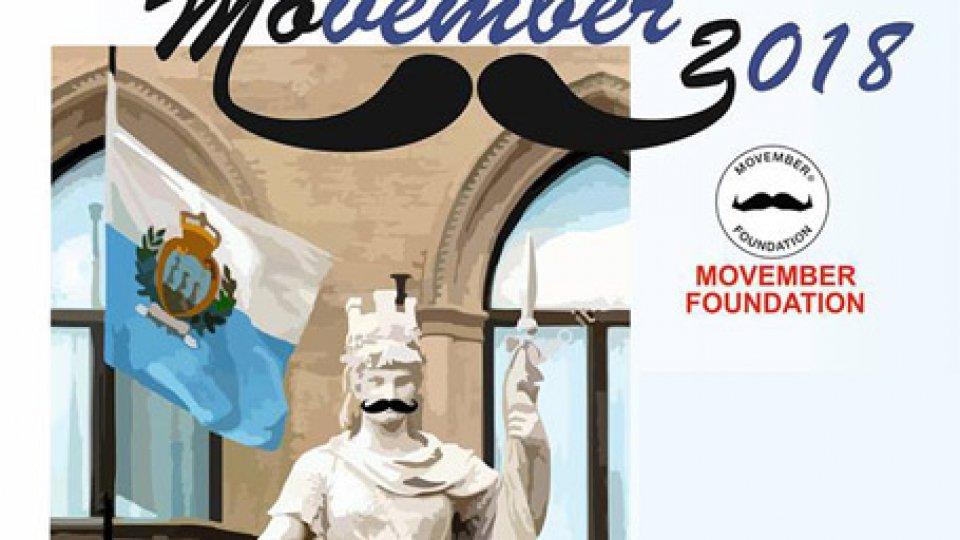 """Movember a San MarinoSan Marino aderisce al """"Movember"""""""