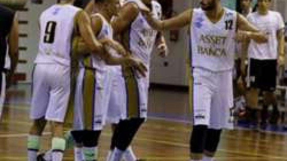 Basket: Co. Ozzano - Asset San Marino 77-65