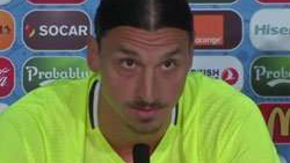 """Zlatan IbrahimovicIbra annuncia il ritiro: """"Addio alla Svezia dopo l'Europeo"""""""