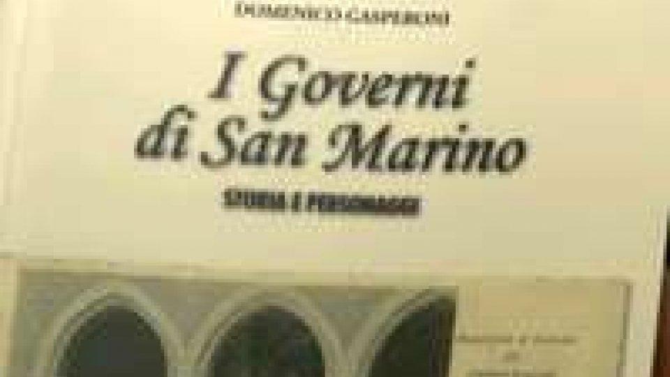 Tutti i governi della Repubblica nel nuovo libro di Domenico Gasperoni