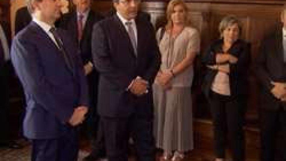 Udienza a PalazzoLa sanità sammarinese stringe accordi con l'Università Cattolica  e  Policlinico Gemelli
