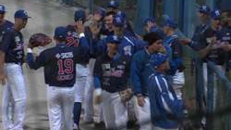 Baseball: successo in rimonta per la T&A San MarinoBaseball: successo in rimonta per la T&A San Marino