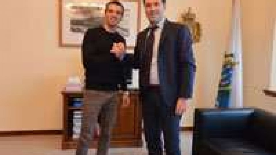 De Angelis dal segretario allo sport: contento dell'accordo con il Team Octo Iodaracing