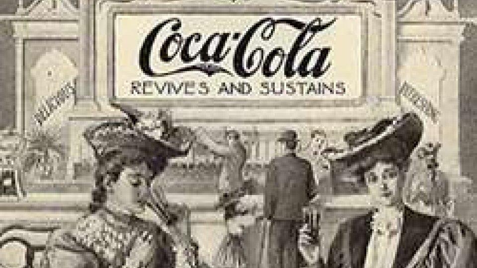 Una delle prime pubblicità della Coca-Cola