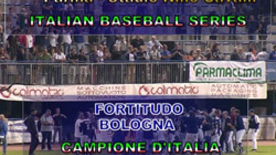 Baseball, la Fortitudo Bologna è Campione d'Italia