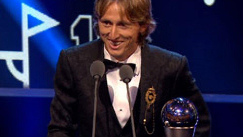 Luka ModricFifa, Modric è il giocatore dell'anno
