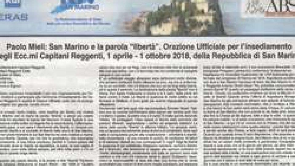 L'orazione di Mieli sul Corriere della Sera