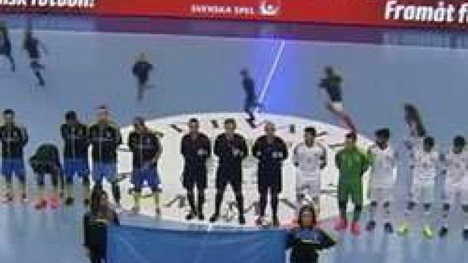 Futsal: Svezia-San Marino 9-4Futsal: Svezia-San Marino 9-4