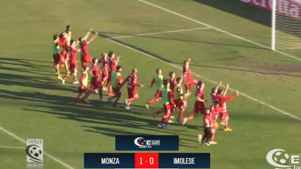 Monza 1-0 ImoleseMonza 1-0 Imolese, i brianzoli sono la prima semifinalista della Coppa Italia Serie C
