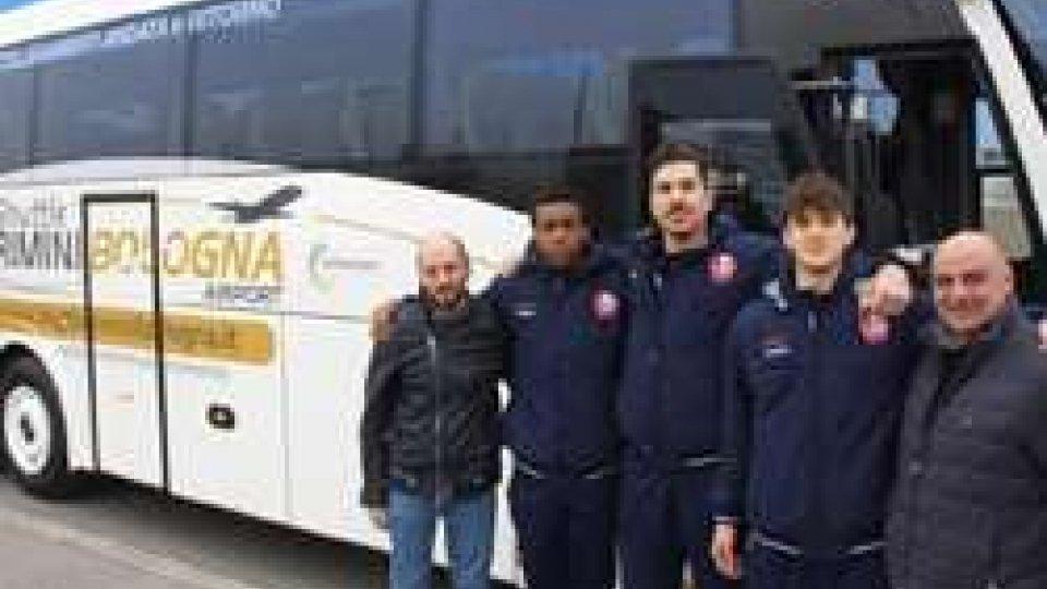 Lo Shuttle Rimini-Bologna, ferma anche nel grande Basket