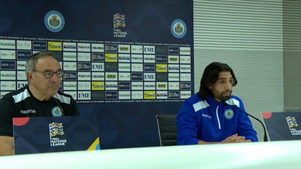 La conferenza stampaContro la Bielorussia l'ultima del girone per San Marino