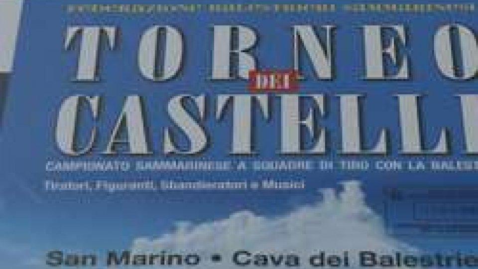 Torneo CastelliTorna l'appuntamento annuale con il Torneo dei Castelli, il campionato sammarinese a squadre di tiro con la balestra