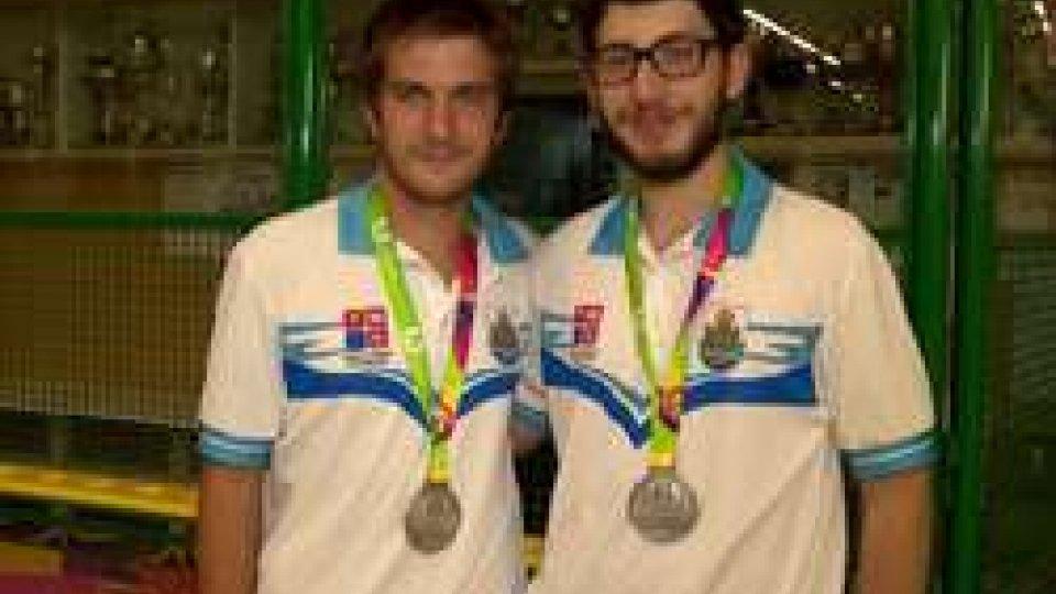 Jacopo Frisoni ed Enrico Dall'Olmo