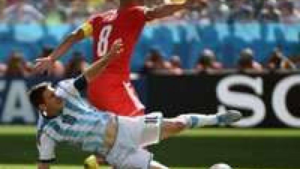 Mondiali: Argentina-Svizzera 1-0 ai supplementari, Albiceleste ai quarti
