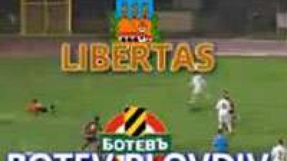 Europa League: Libertas - Botev PlovdivLa Libertas cede 2-0 nella ripresa