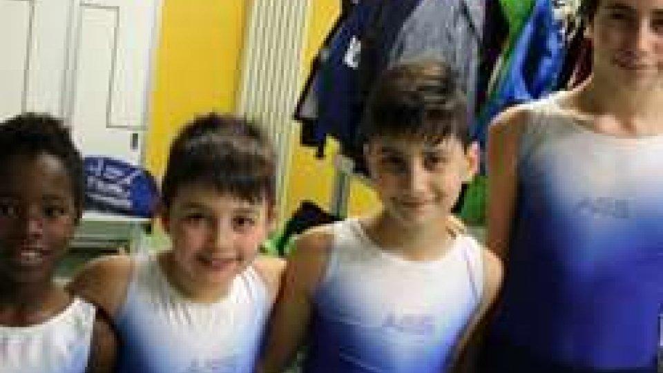I ragazzi dell'Accademia della Ginnastica San Marino