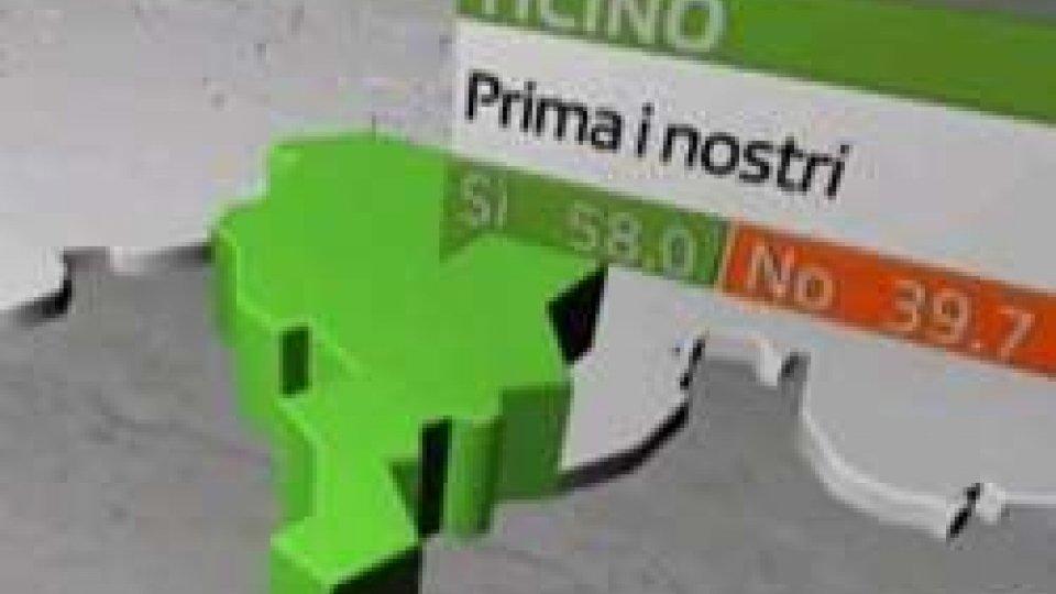 """Il confine svizzeroSvizzera, referendum """"antifrontalieri"""": il punto a San Marino"""