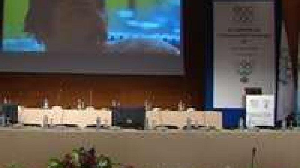 Al Kursaal il Seminario dei Comitati Olimpici Europei e Forum della solidarietàAl Kursaal il Seminario dei Comitati Olimpici Europei e Forum della solidarietà