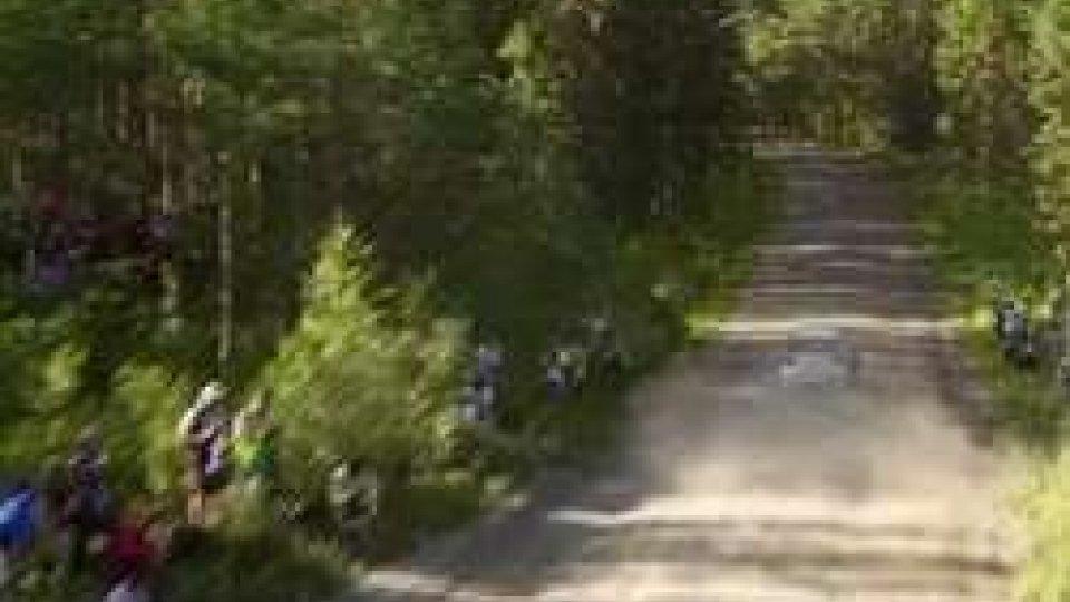 WRC, Rally di Finladia: shakedown a Latvala