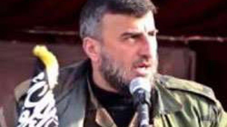 "Siria: ucciso leader ""ribelle"" da raid aereo. Fu tra i responsabili del massacro di AdraSiria: ucciso leader ""ribelle"" da raid aereo. Fu tra i responsabili del massacro di Adra"