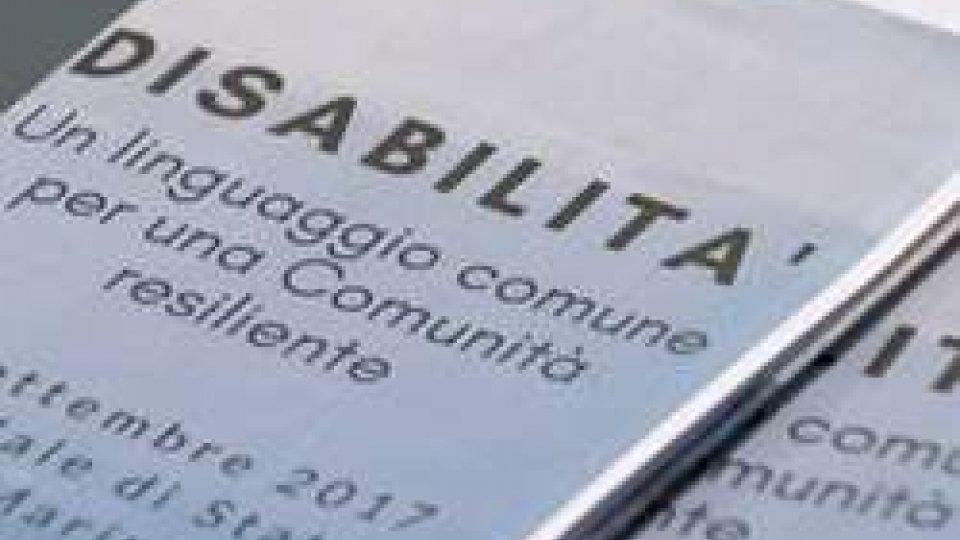 Al lavoro il tavolo tecnico interdisciplinare sulla condizione delle persone disabili e delle loro famiglie