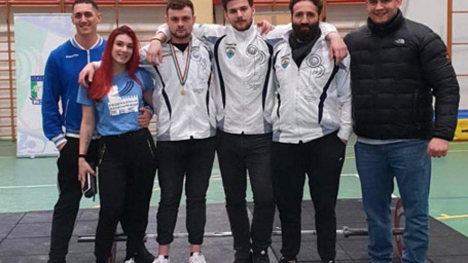 La San Marino Pesi cala il poker ai Campionati Regionali