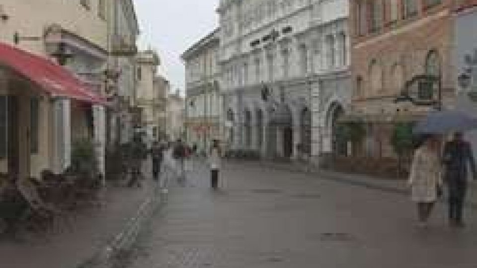 la Nazionale ha trovato pioggia e freddoLa Nazionale in Lituania ha trovato pioggia e freddo