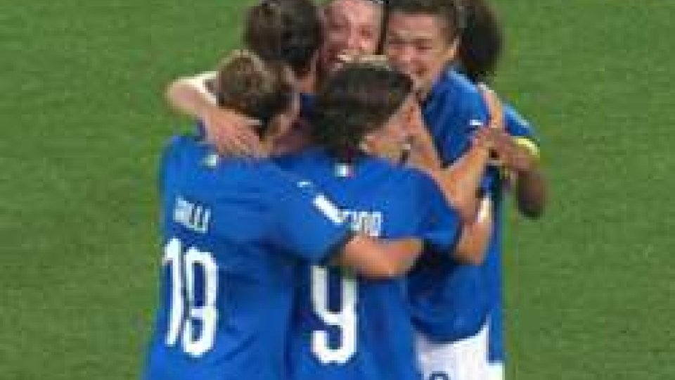 Le azzurre ai mondiali
