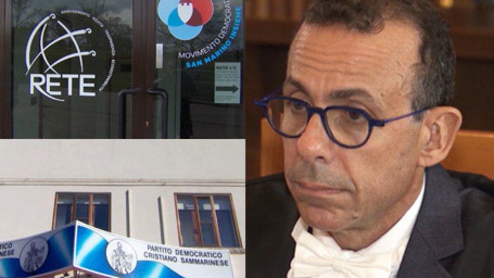 Giustizia: ancora critiche, da PDCS e DIM, sulla nomina di Giovanni Guzzetta